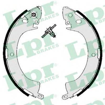 LPR 05240 Комплект тормозных колодок