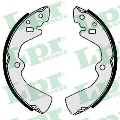 LPR 05480 Комплект тормозных колодок