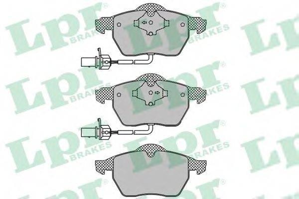 LPR 05P1119 Комплект тормозных колодок, дисковый тормоз