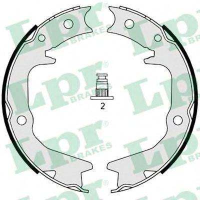 LPR 08920 Комплект тормозных колодок, стояночная тормозная система