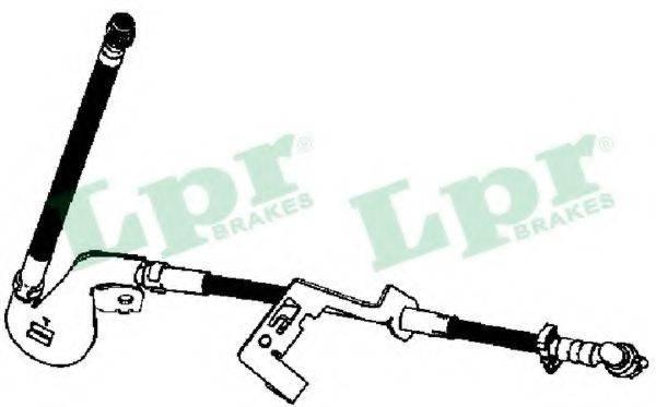 LPR 6T48342 Тормозной шланг