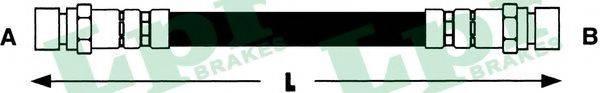 LPR 6T46430 Тормозной шланг