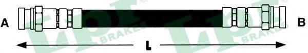 LPR 6T46422 Тормозной шланг