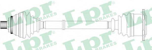 LPR DS14125 Приводной вал