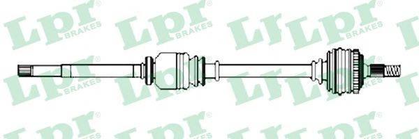LPR DS52231 Приводной вал