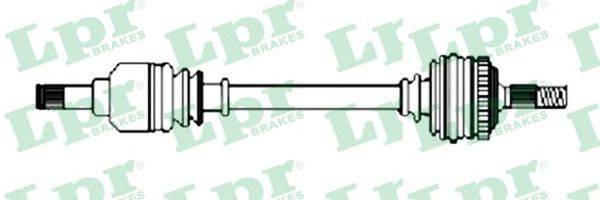 LPR DS52333 Приводной вал
