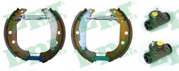LPR OEK086 Комплект тормозных колодок