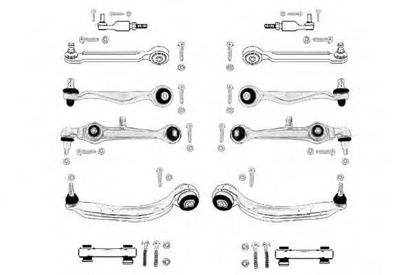 OCAP 0904190K Ремкомплект, подвеска колеса