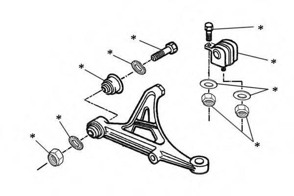OCAP 0902229 Комлектующее руля, подвеска колеса