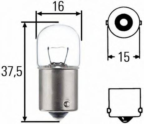 HELLA 8GA002071241 Лампа накаливания, фонарь указателя поворота; Лампа накаливания, фонарь освещения номерного знака; Лампа накаливания, задний гарабитный огонь; Лампа накаливания, oсвещение салона; Лампа накаливания, стояночные огни / габаритные фонари; Лампа накаливания, габаритный огонь; Лампа накаливания; Лампа накаливания, стояночный / габаритный огонь; Лампа накаливания, oсвещение салона; Лампа накаливания, фонарь освещения номерного знака; Лампа накаливания, стояночный / габаритный огонь; Лампа накаливания, задний гарабитный огонь; Лампа накаливания, габаритный огонь