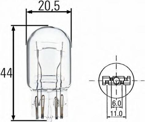 HELLA 8GD008893002 Лампа накаливания, фонарь сигнала тормож./ задний габ. огонь; Лампа накаливания, задний гарабитный огонь; Лампа накаливания, фонарь освещения багажника; Лампа накаливания, стояночные огни / габаритные фонари; Лампа накаливания; Лампа накаливания, стояночный / габаритный огонь; Лампа накаливания, фонарь сигнала тормож./ задний габ. огонь; Лампа накаливания, фара дневного освещения