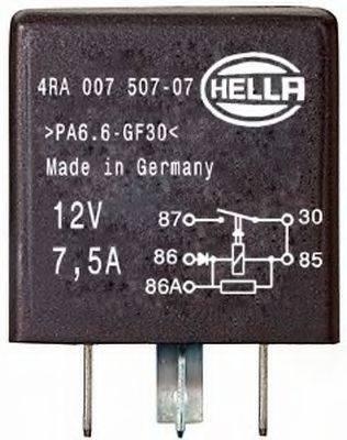 HELLA 4RA007507071 Реле, рабочий ток; Многофункциональное реле