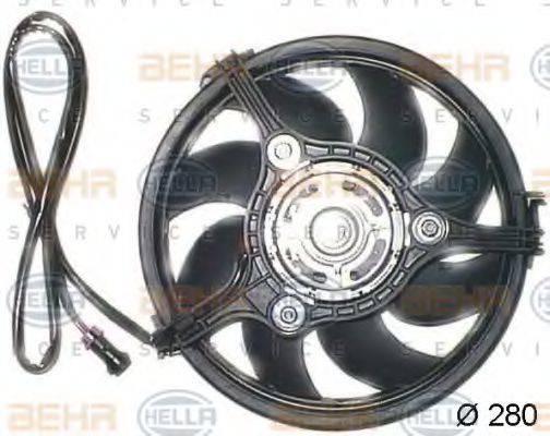HELLA 8EW009144341 Вентилятор, охлаждение двигателя