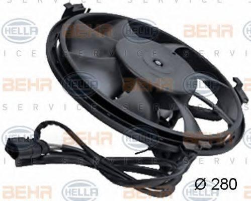 HELLA 8EW351039771 Вентилятор, охлаждение двигателя