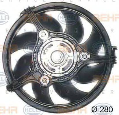 HELLA 8EW351044131 Вентилятор, охлаждение двигателя