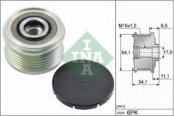 INA 535017910 Механизм свободного хода генератора