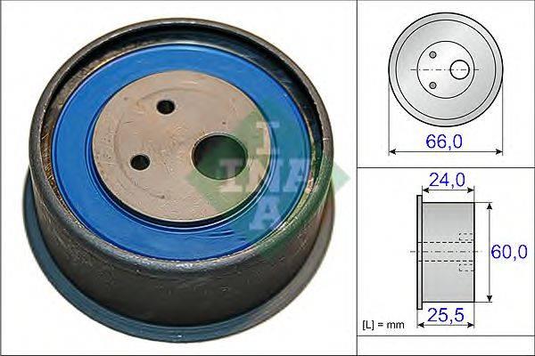 INA 531086010 Натяжной ролик, ремень ГРМ