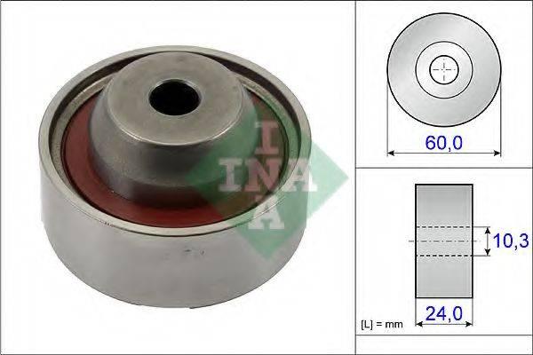 INA 532067410 Паразитный / Ведущий ролик, зубчатый ремень