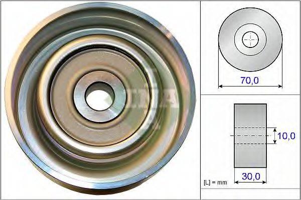 INA 532073810 Паразитный / ведущий ролик, поликлиновой ремень