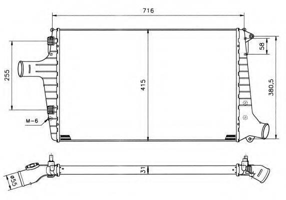 NRF 30118 Интеркулер