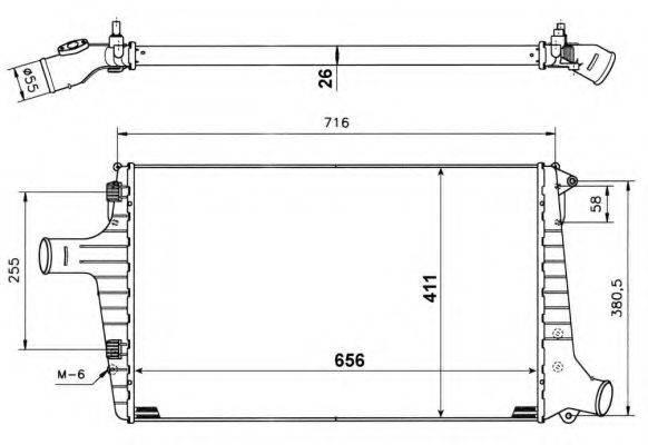 NRF 30118A Интеркулер
