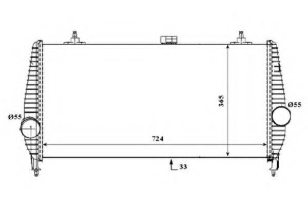 NRF 30194 Интеркулер