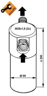NRF 33081 Осушитель, кондиционер
