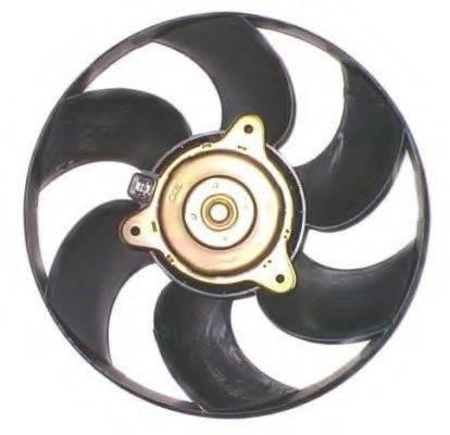 NRF 47345 Вентилятор, охлаждение двигателя