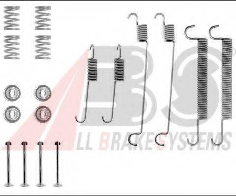 A.B.S. 0547Q Комплектующие, тормозная колодка
