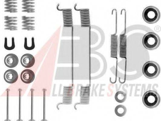 A.B.S. 0635Q Комплектующие, тормозная колодка
