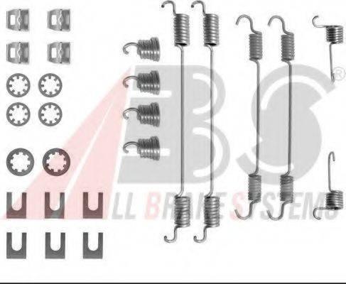 A.B.S. 0656Q Комплектующие, тормозная колодка