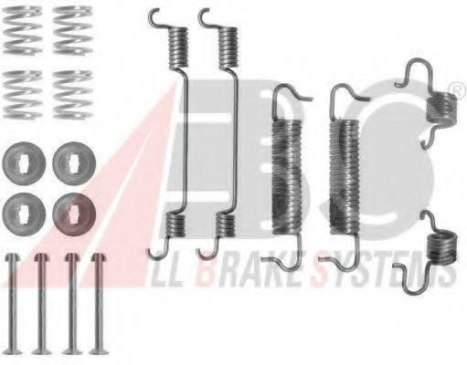 A.B.S. 0780Q Комплектующие, тормозная колодка