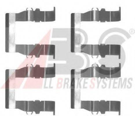 A.B.S. 1194Q Комплектующие, колодки дискового тормоза