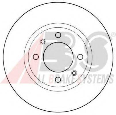 A.B.S. 15414OE Тормозной диск