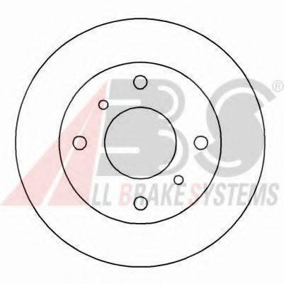 A.B.S. 15888 Тормозной диск