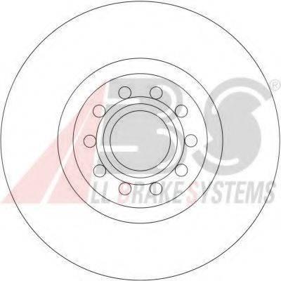 A.B.S. 16930 Тормозной диск