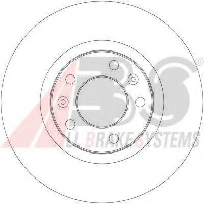 A.B.S. 17363 Тормозной диск