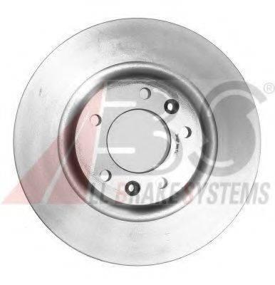 A.B.S. 17555 Тормозной диск