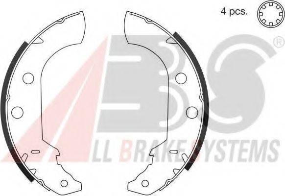 A.B.S. 8321 Комплект тормозных колодок