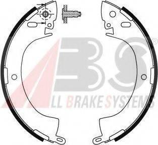 A.B.S. 8657 Комплект тормозных колодок