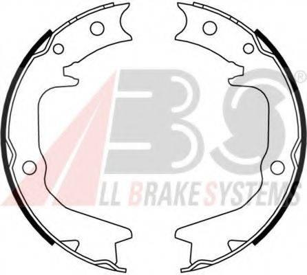 A.B.S. 9181 Комплект тормозных колодок, стояночная тормозная система