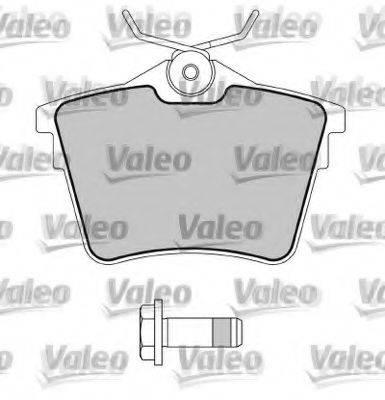 VALEO 597520 Комплект тормозных колодок, дисковый тормоз