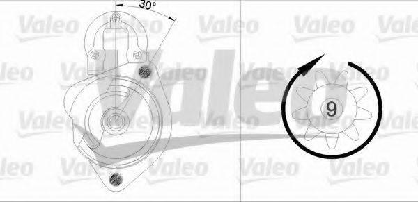 VALEO 455680 Стартер
