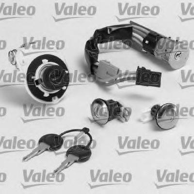 VALEO 252237 Комплект цилиндра замка