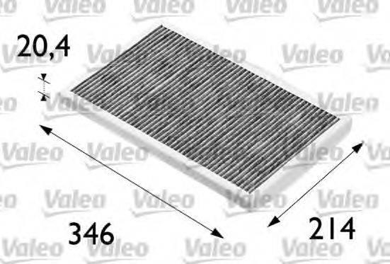 VALEO 698684 Фильтр, воздух во внутренном пространстве