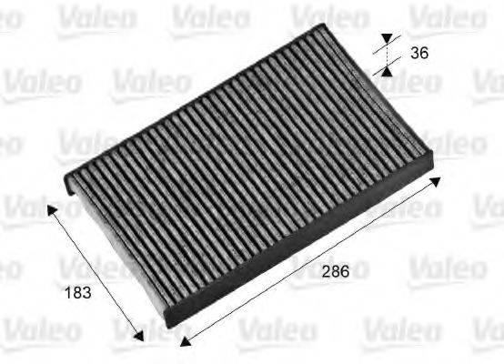 VALEO 698714 Фильтр, воздух во внутренном пространстве