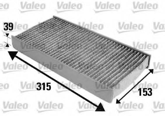 VALEO 698884 Фильтр, воздух во внутренном пространстве