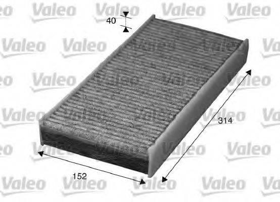 VALEO 715570 Фильтр, воздух во внутренном пространстве