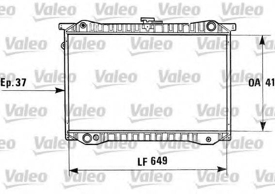 VALEO 730410 Радиатор, охлаждение двигателя