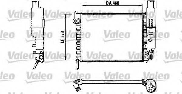 VALEO 810915 Радиатор, охлаждение двигателя